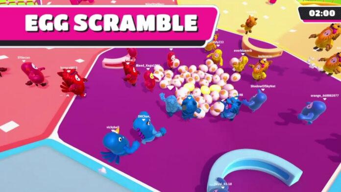Egg scramble fall guys