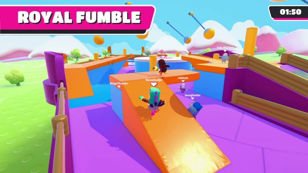 Royale Fumble Fall Guys Knockout guide
