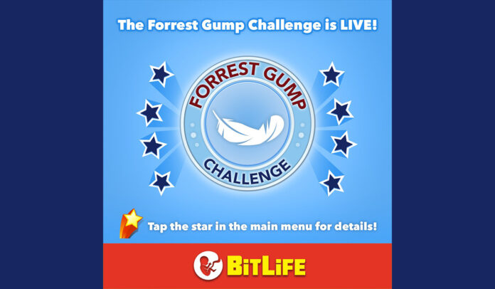 How to complete the Forrest Gump Challenge in BitLife