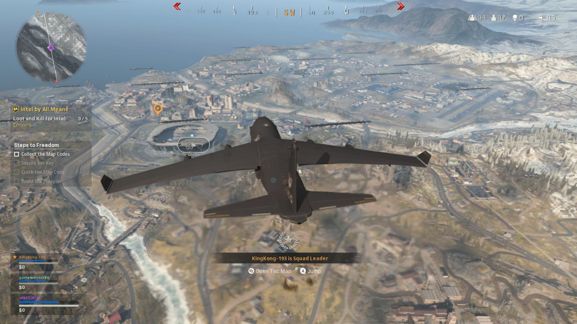 Événement Cod Warzone Black Ops