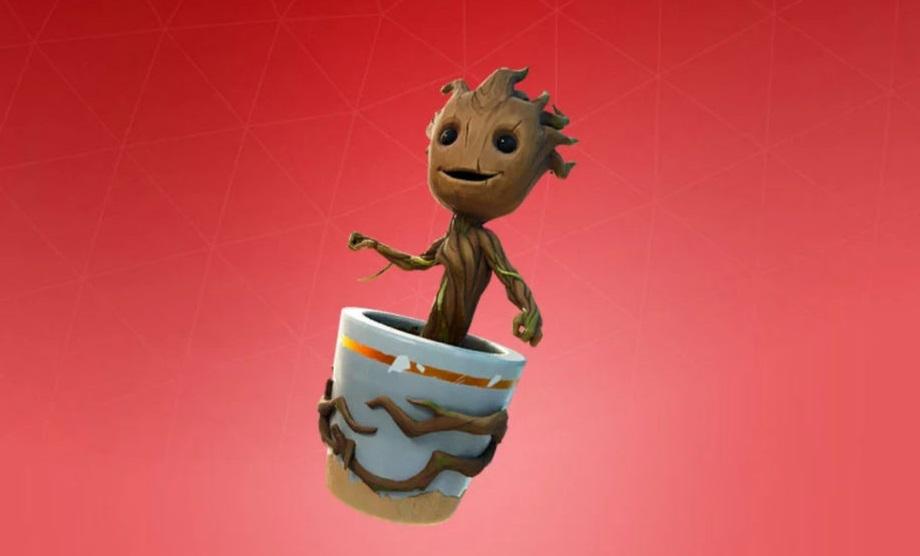 Baby Groot Fortnite comment trouver un jeune arbre de sauvetage