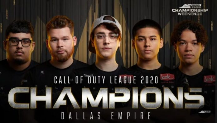 Dallas Empire a couronné les champions de la Call of Duty League 2020 après avoir anéanti Atlanta FaZe