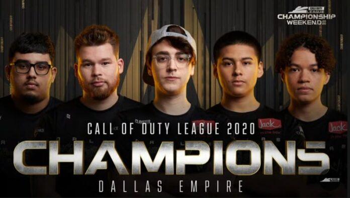 Dallas Empire a couronné les champions de la Call of Duty League 2020 après avoir anéanti Atlanta FaZe