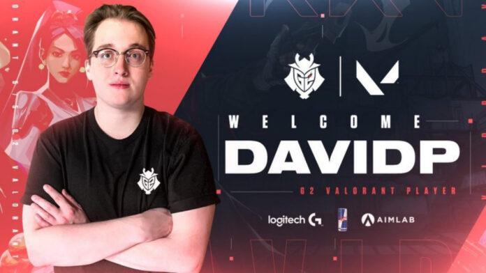 Davidp de G2 confirme qu'il n'abandonnera pas le tournoi Valorant après le décès de son père