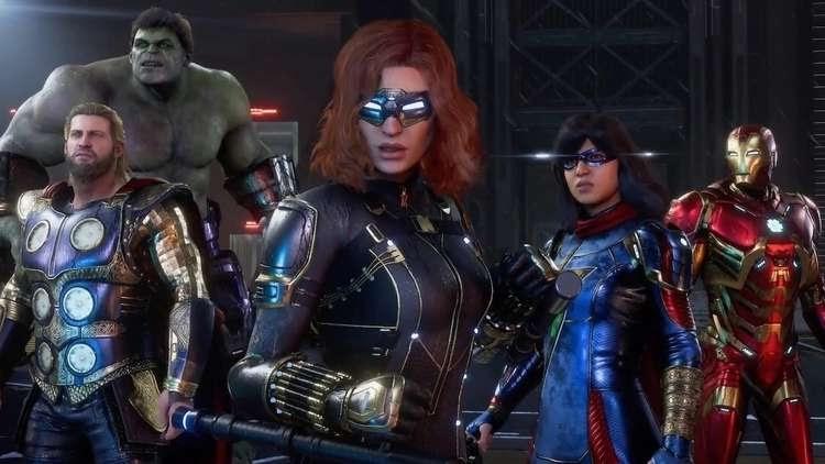 Les héros jouables de Marvel Avengers fuient une mine de données