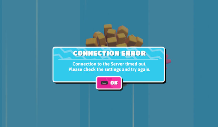 Fall Guys Ultimate Knockout Connection Error