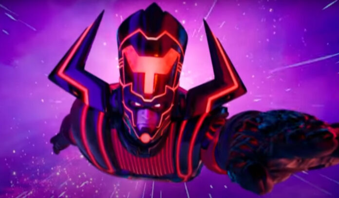 Fortnite Season 4 launch trailer galactus marvel