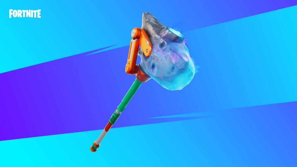 réduction v-bucks, réduction épique de 20%, Fortnite Mega Drop, pioche Fortnite Shooting Staff