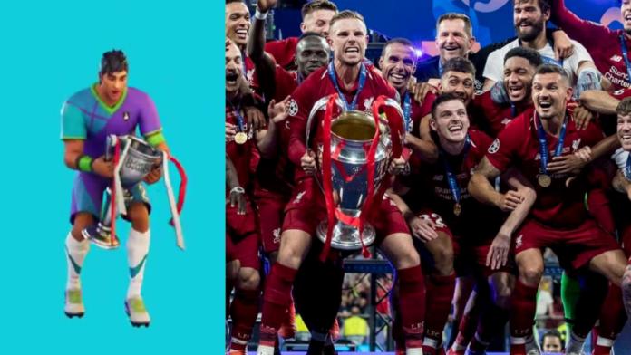 Fortnite célèbre le titre de Premier League de Liverpool en ajoutant le Hendo Shuffle comme émote