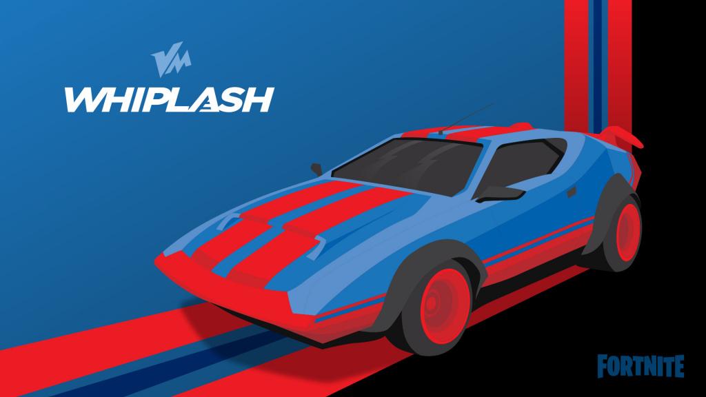 Fortnite Joy Ride mise à jour des jeux épiques de voitures