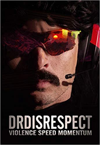 Dr Disrespect Violence Speed momentum autobiography book