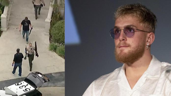 Le FBI a récupéré plusieurs armes de la maison de Jake Paul après l'avoir attaquée
