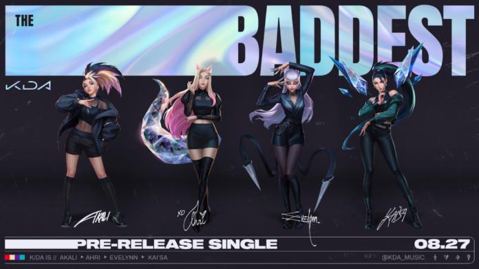 Le retour triomphant de K / DA est annoncé par leur dernier single, The Baddest