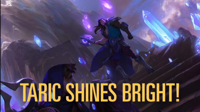 Legends of Runeterra révèle son dernier champion, Taric, aux côtés de nouvelles cartes de l'ensemble Call of the Mountain