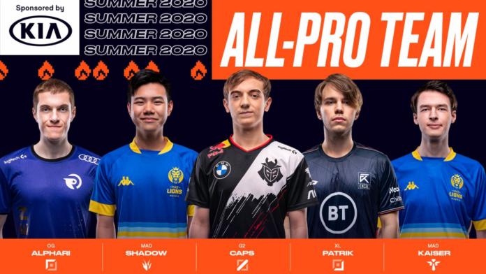 L'équipe LEC All-Pro a été révélée
