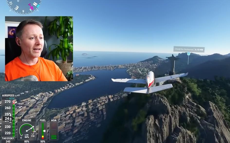 Simulateur de vol Microsoft Twitch Limmy