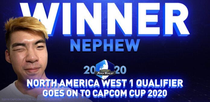 Nephew remporte sa place à la Coupe Capcom en tirant une surprise aux éliminatoires de l'Amérique du Nord-Ouest