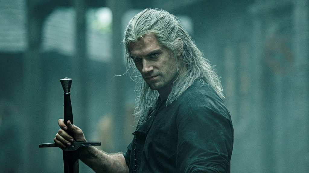 Henry Cavill joue The Witcher