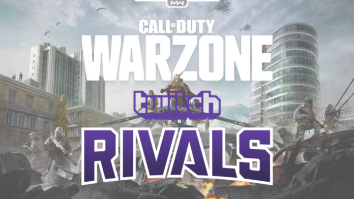 Twitch Rivals Call of Duty Warzone Showdown 3 schedule prize pool teams how to watch