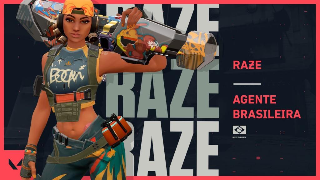 Bug Raze Showstopper retiré du jeu Valorant, pourquoi ne puis-je pas jouer en tant que raze?