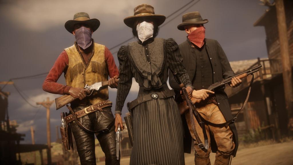 Mise à jour de Red Dead Online
