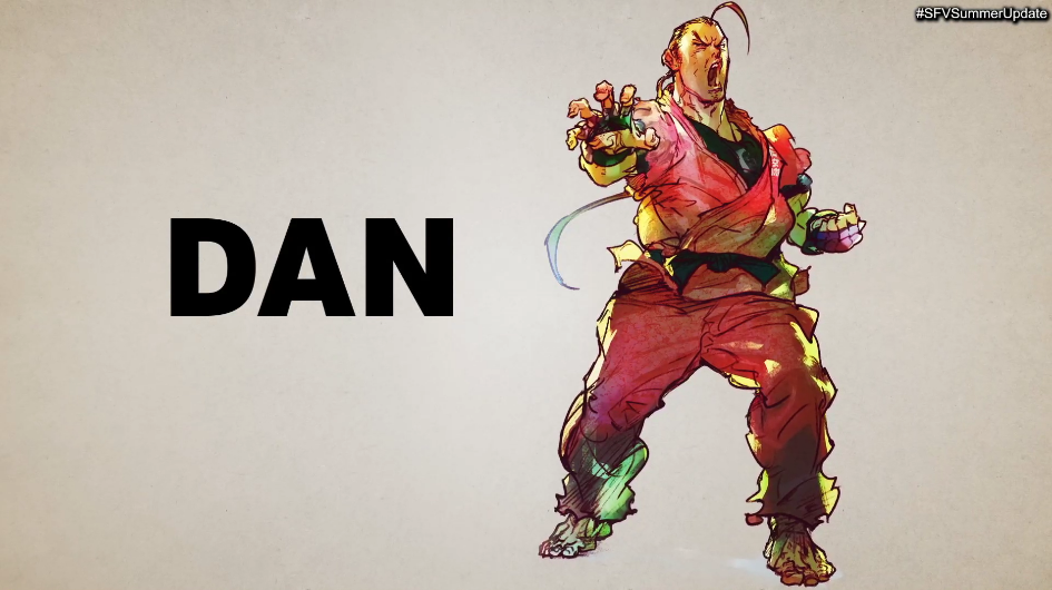 Dan Street Fighter V