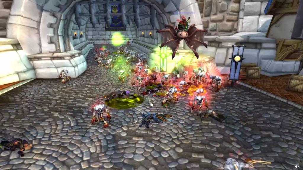 Événement pré-expansion de World of Warcraft Zombie Plague Shadowlands