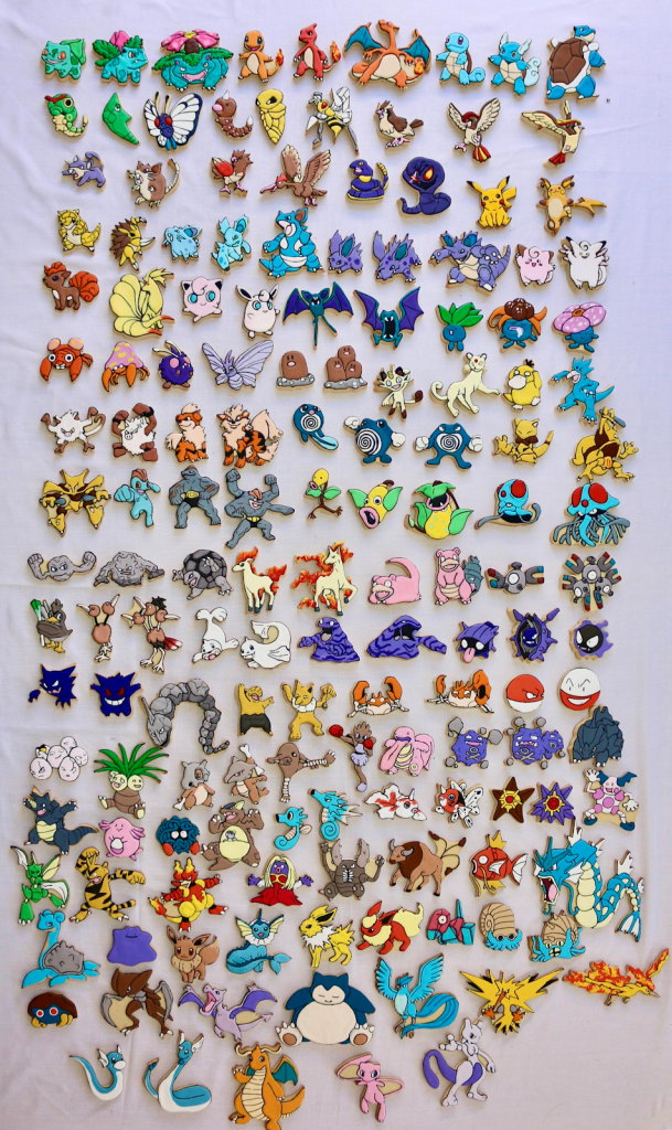 Cookies Pokémon