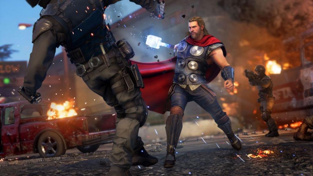 synthoïdes Marvel Avengers pauvres fps, système de matchmaking de gouttes de cadre