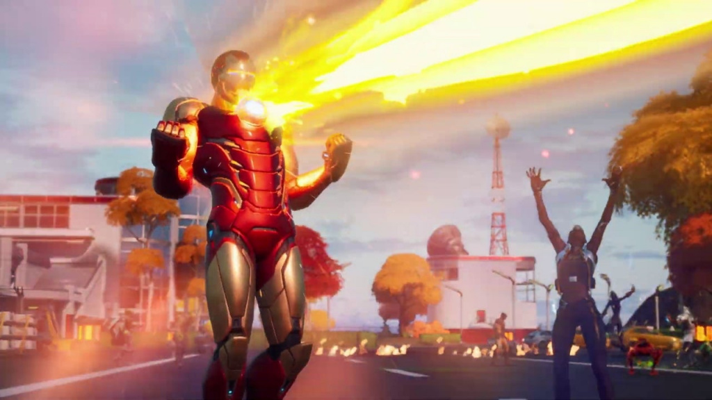 Iron Man Fortnite Comment vaincre les gantelets répulseurs unibeam