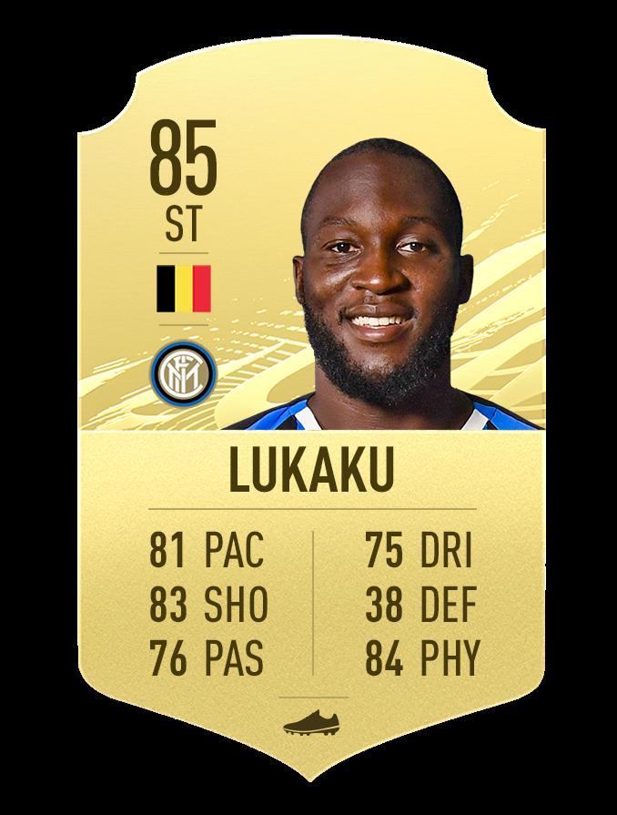 FIFA 21 Romelu Lukaku note Seria A top 10
