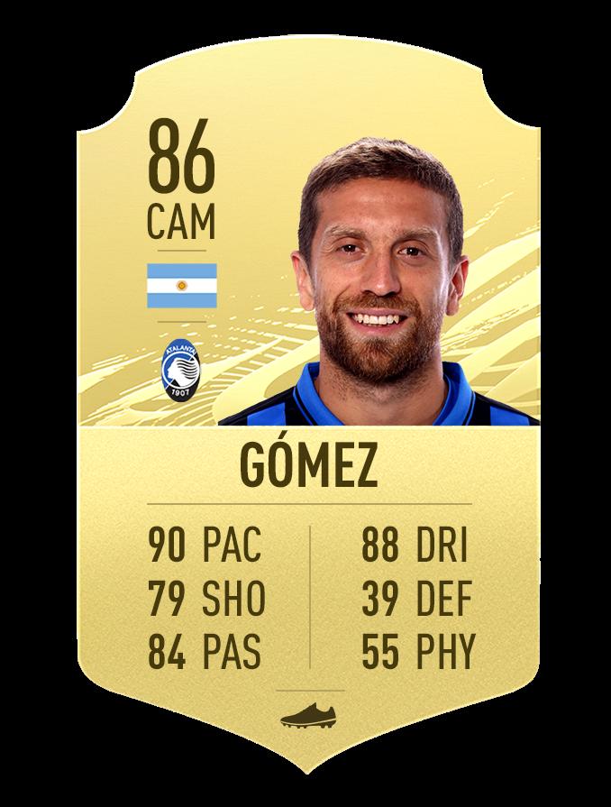 Note de Gomez Atlanta FIFA 21