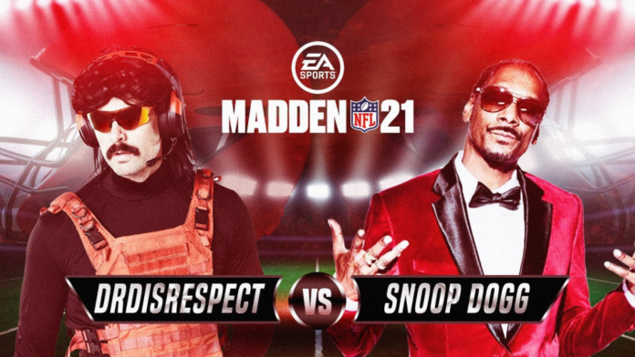 Snoop Dogg fume le Dr Disrespect dans Madden 21 collab