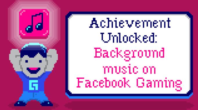Facebook DRM free music Facebook Gaming streaming music deal