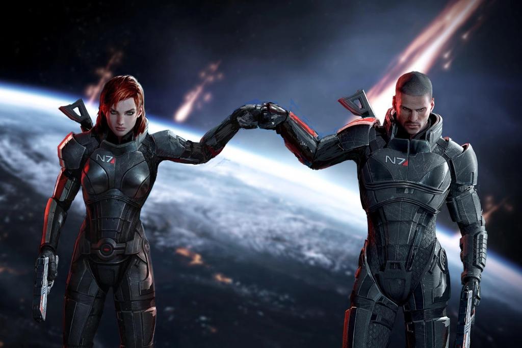 Mass Effect remasterisé Trilogy