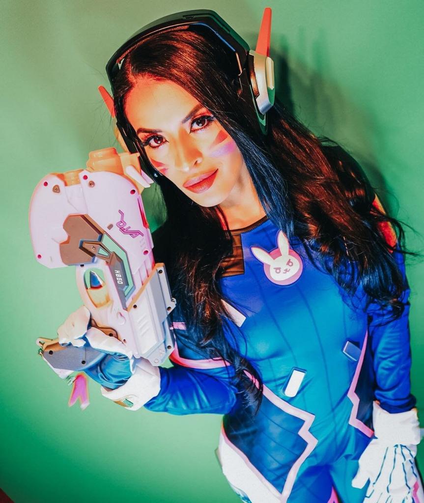 Zelina Vega D.Va Meilleurs cosplays
