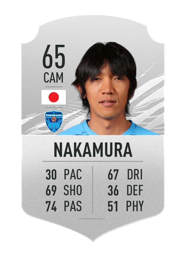 Coup franc Nakamura FIFA 21