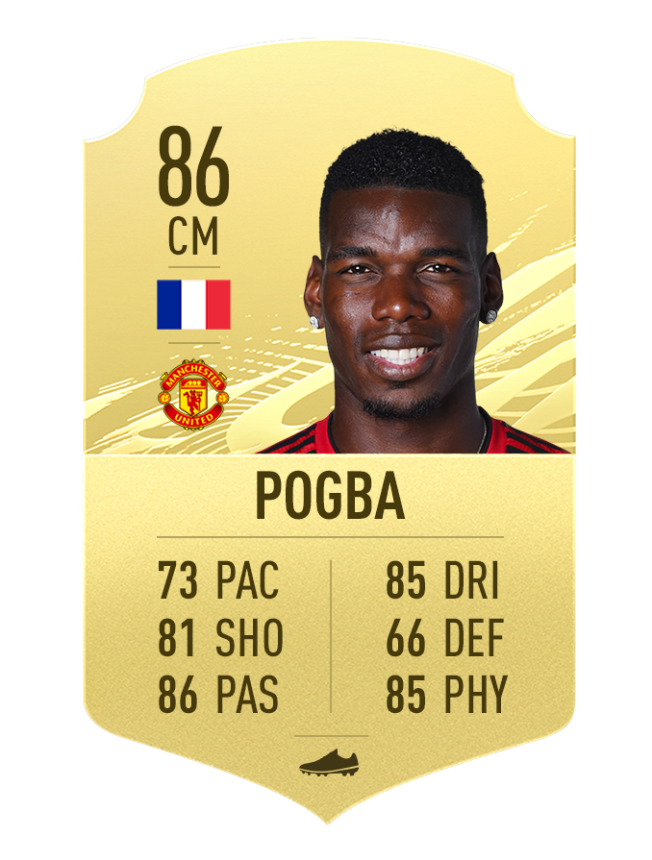 Pogba FIFA 21 meilleurs joueurs talentueux flair 5 étoiles