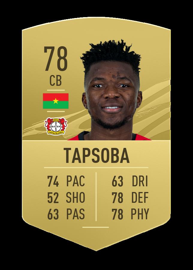 Tapsoba FIFA 21 joueurs les plus améliorés