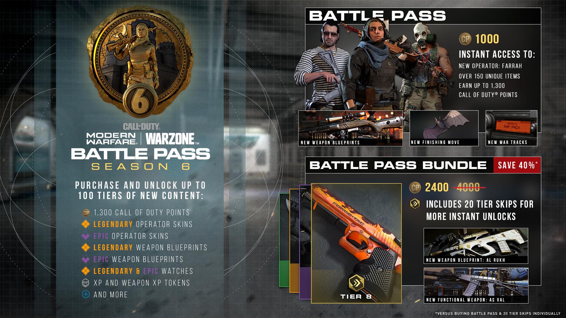 Récompenses du Battle Pass