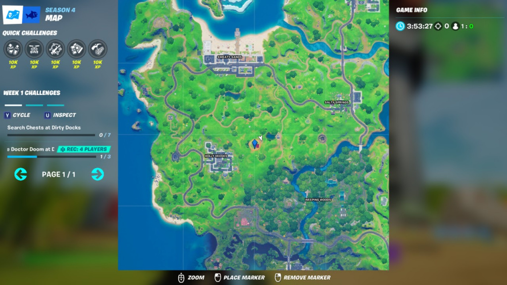 Fortnite Ant-man, emplacement Fortnite Ant-Man, ANt-Man Poi, Antman Poi, où est Antman dans Fortnite