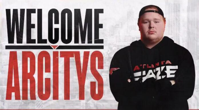 Arcitys rejoint Atlanta FaZe pour la saison CDL 2021