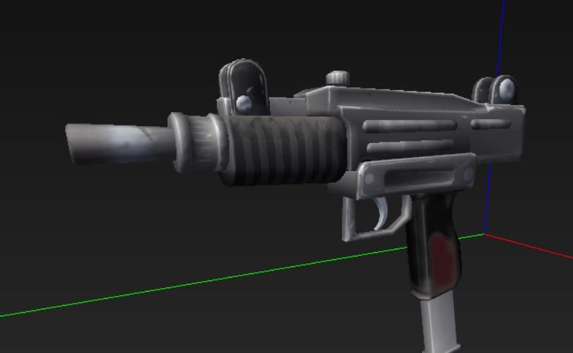 Arme mythique de pistolets automatiques double mystique de Fortnite