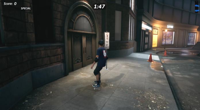 Brisez 5 panneaux «No Skating» au centre-ville dans le patineur professionnel de Tony Hawk 1 + 2