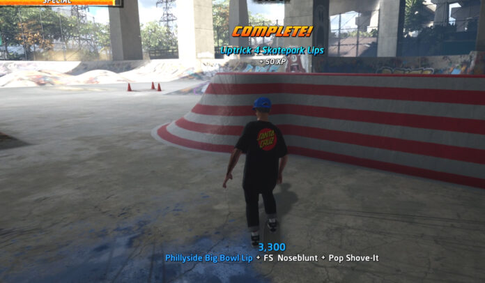 How to Liptrick 4 Skatepark Lips in Philadelphia THPS