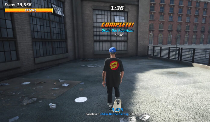 How to Drain the Fountain in Philadelphia in THPS