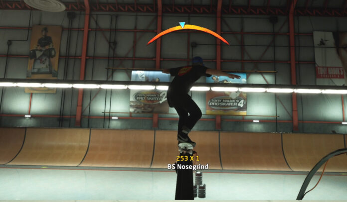 How to Nosegrind Over the Pipe in Tony Hawk