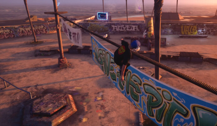 How to get the Secret Tape on Venice Beach in THPS