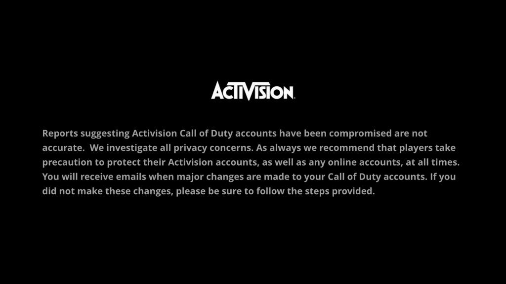 Comment protéger le compte Call of Duty piraté