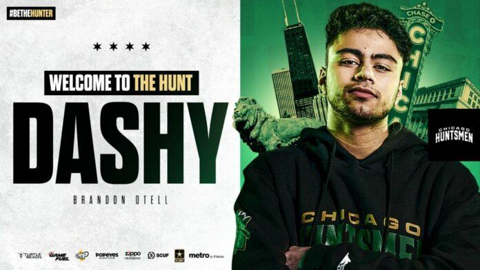 Dashy complète l'alignement des Chicago Huntsmen pour la saison CDL 2021